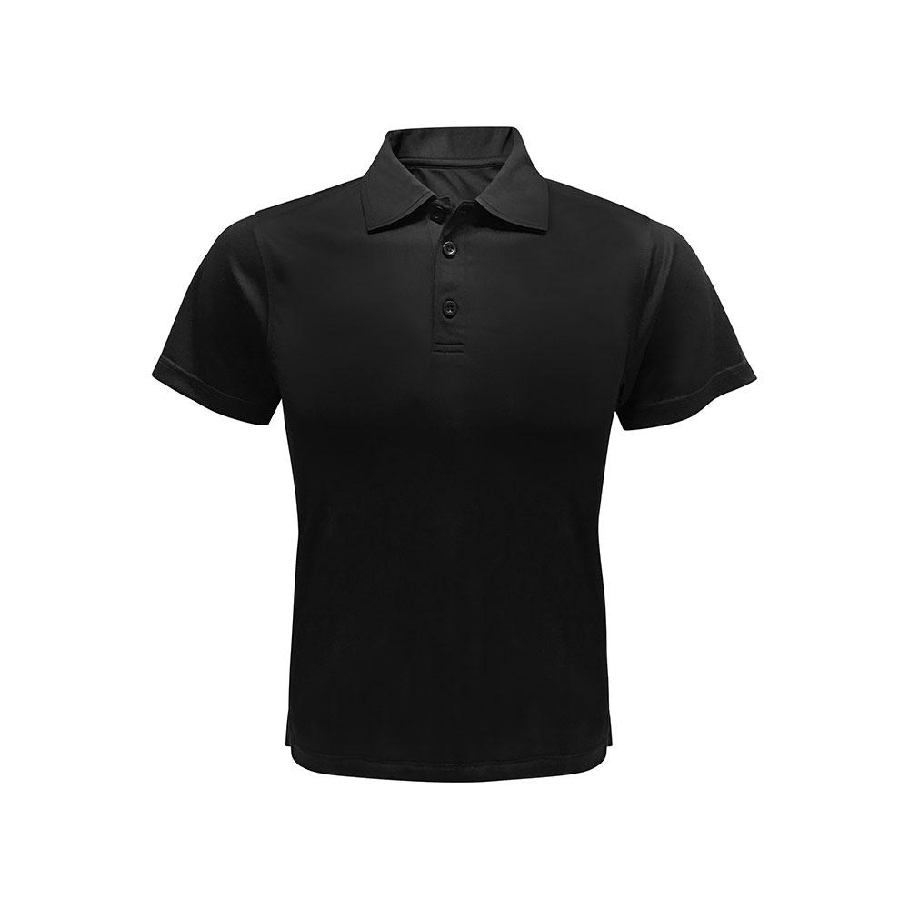 Lugio Interlock Polo T-Shirt (Self Fabric Collar)