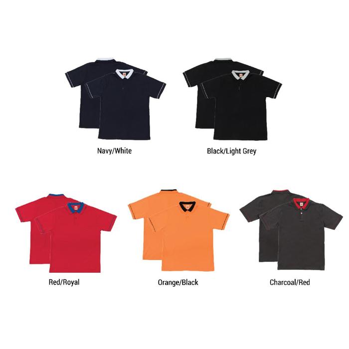 Cotton Interlock Polo T-shirt