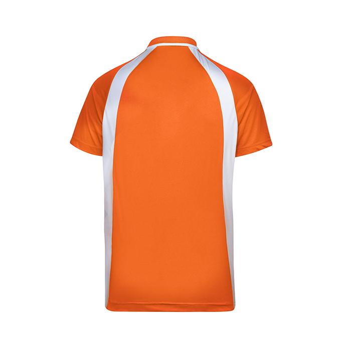 Contrast Bi-cross Polo T-Shirt