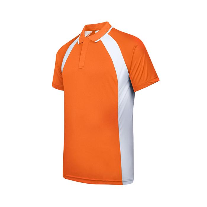 Contrast Bi-cross Polo T-Shirt (Female)