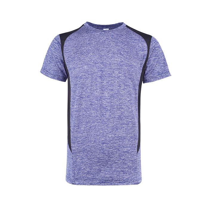 Heather Edge Round Neck T-shirt