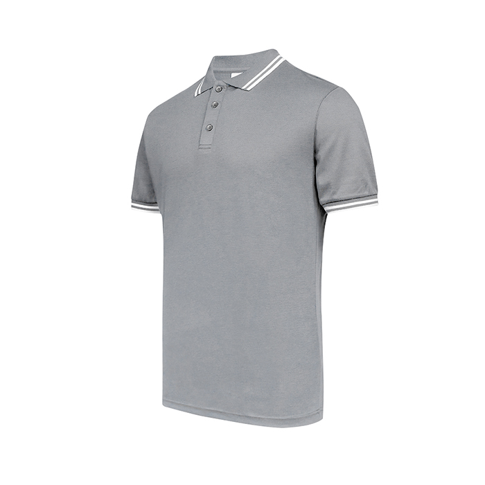 Pique Twin Tipped Polo T-Shirt