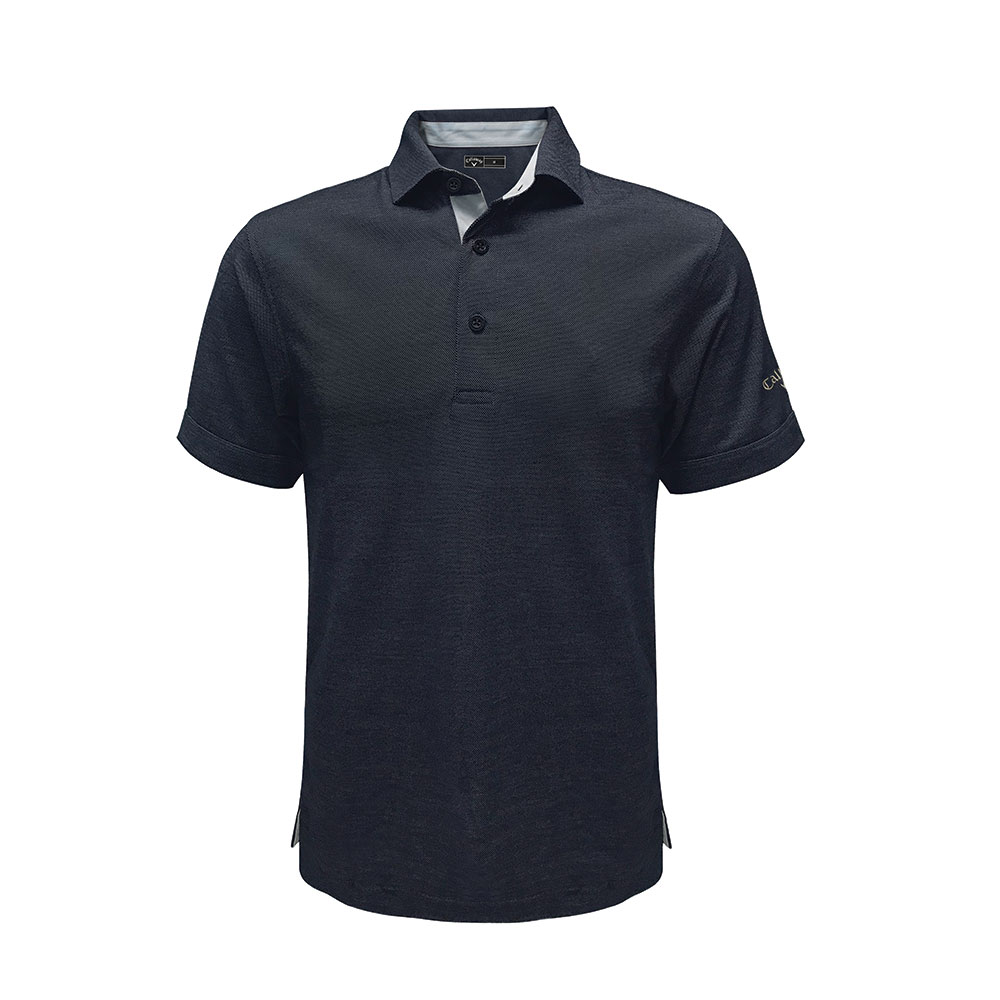 Callaway Oxford Pique Polo T-shirt (Self Fabric Collar)