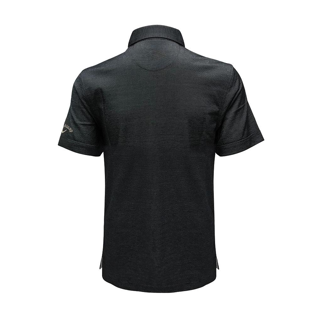 Callaway Oxford Pique Polo T-shirt (Self Fabric Collar)