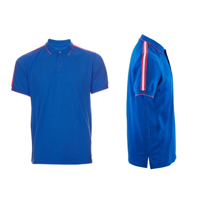 Honeycomb Short Sleeve Collar Polo T-shirt