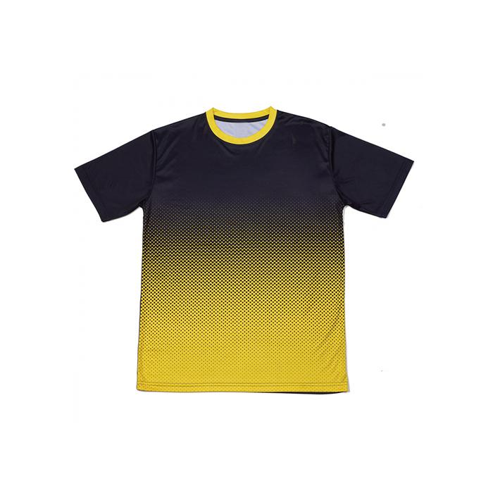 Gradient Quick Dry Round Neck T-shirt