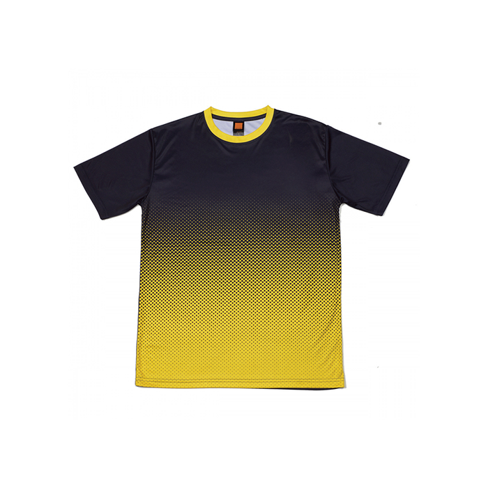 Gradient Quick Dry Round Neck T-shirt