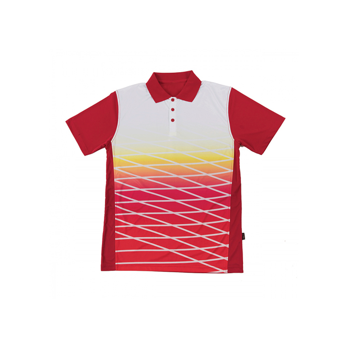 Quick Dry Pattern Polo T-shirt