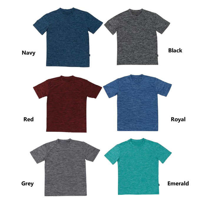 Quick Dry Round Neck Polo T-shirt